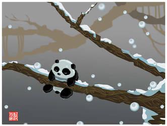 Panda Dreams by LagunaPavon