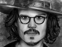 Johnny Depp by alicegallery