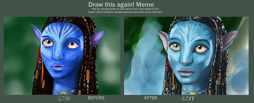 Draw this again! - Avatar 2014-2017 by alicegallery