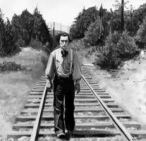 Buster Keaton by Shiva-Anarion