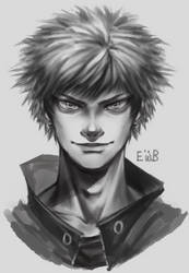 kacchan realistic by eggswithbenefits