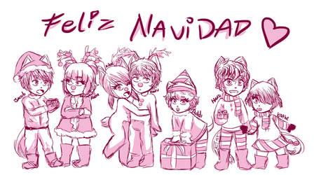 Babus Feliz Navidad! by NanaMariana22