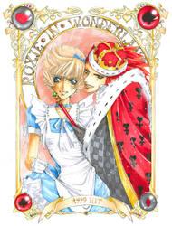 KH: Roxie in Wonderland by Atomic-Clover