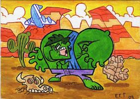 Painted Hulk by Madatom
