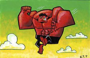 Red Hulk by Madatom