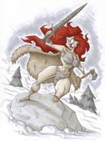Red Sonja by Madatom