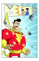 Shazam pg6 by Madatom