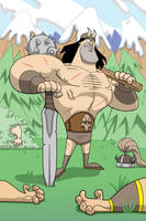 Conan victorious by Madatom