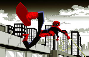 Swinging Spider by Madatom