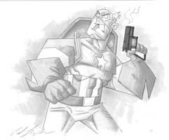Captain America Grey by Madatom