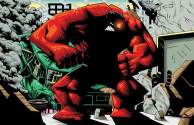 Rage of the Red Hulk by Madatom