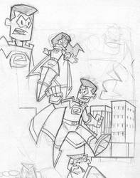 Crusader sketch 2 by Madatom
