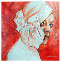 Self portrait by jane-beata