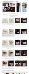 Simple watercolor tutorial: Eye study by jane-beata