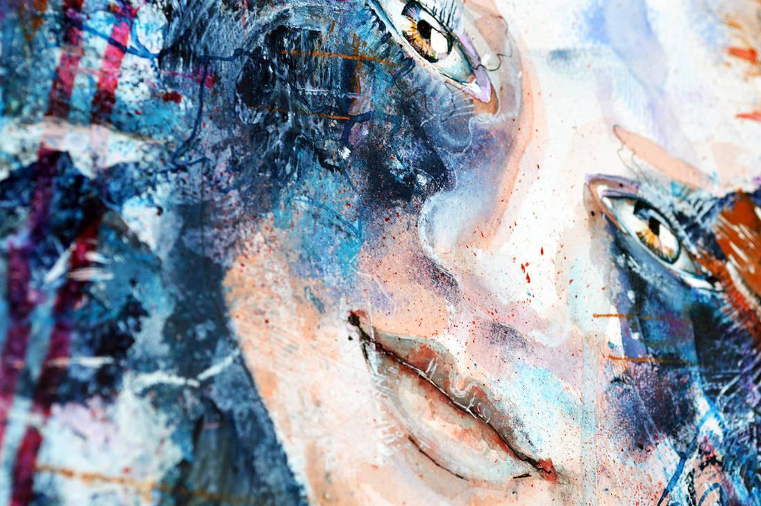 Silent statement, closeup by jane-beata