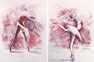 Ballet studies by jane-beata