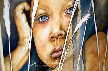 Daydreamer II - closeup by jane-beata