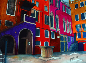 Venice, colorful exploration by jane-beata