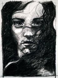 Charcoal study I by jane-beata