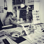 Saturday family painting time by jane-beata
