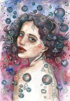 Bubble girl by jane-beata