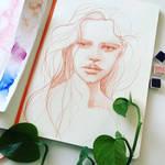 Sketchbook peek by jane-beata