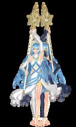 Azura/Aqua MMD DL Fire Emblem Fates (IF) (Switch) by Sangabc