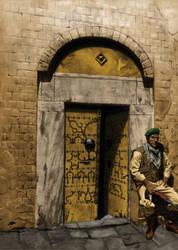 Arab Man by Uberlegen31