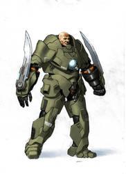 Armor Concept by Uberlegen31