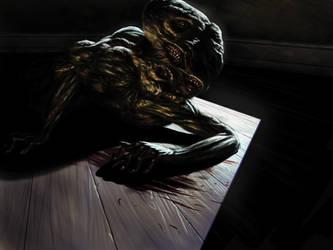 Scary freak by Uberlegen31