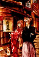 Gilbert and Elisabeth by tenkousei