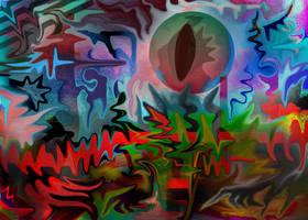 Eye of the C'thun God by HolyNautilus