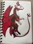 Vampire Drake by dragonwhisper23