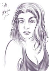 Myself portrait by kimineechan