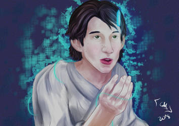 Young Ben solo founds his saber crystal by kimineechan