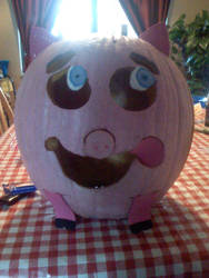 Pot bellied Pumpkin pig by gymnastar1326kairi