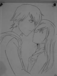 Cute Couple by Been-Through-Enough