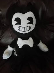 Jumbo Bendy plush doll by Ghostly-Host