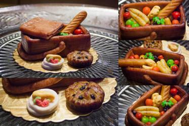Edible Art: Picnic basket by MinayasStudio