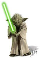 Yoda by Tyleen