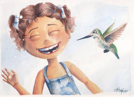 A little birdy told her... by Tyleen