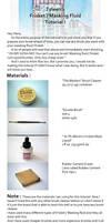 Masking Fluid-Frisket Tutorial by Tyleen