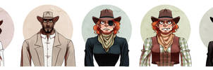 Gang cast by JackPot-84