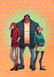 The Hoodies Gang by JackPot-84
