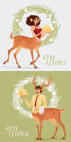 Christmas Menus 2017 by JackPot-84