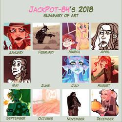 2018 Art Summary by JackPot-84