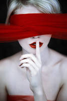 red lies by EbruSidarPortrait