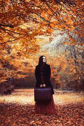 Dear autumn by EbruSidarPortrait