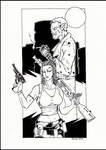 Inquisitor and Burn by PatrickHSullivan