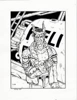El Ray Shadowrun Troll by PatrickHSullivan